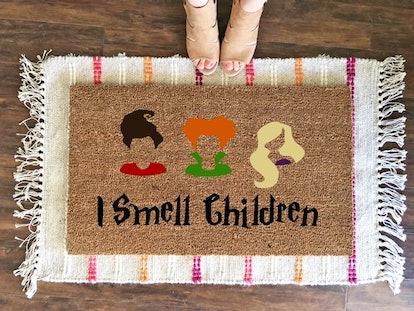I Smell Children Doormat