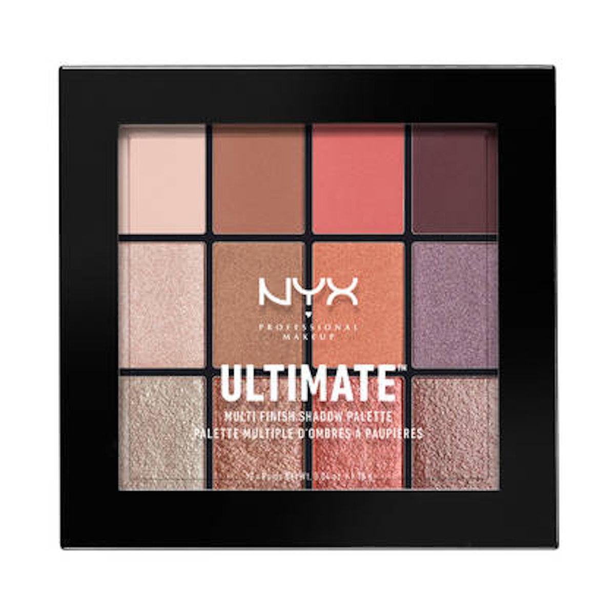 Ultimate Multi-Finish Shadow Palette in Warm Rust