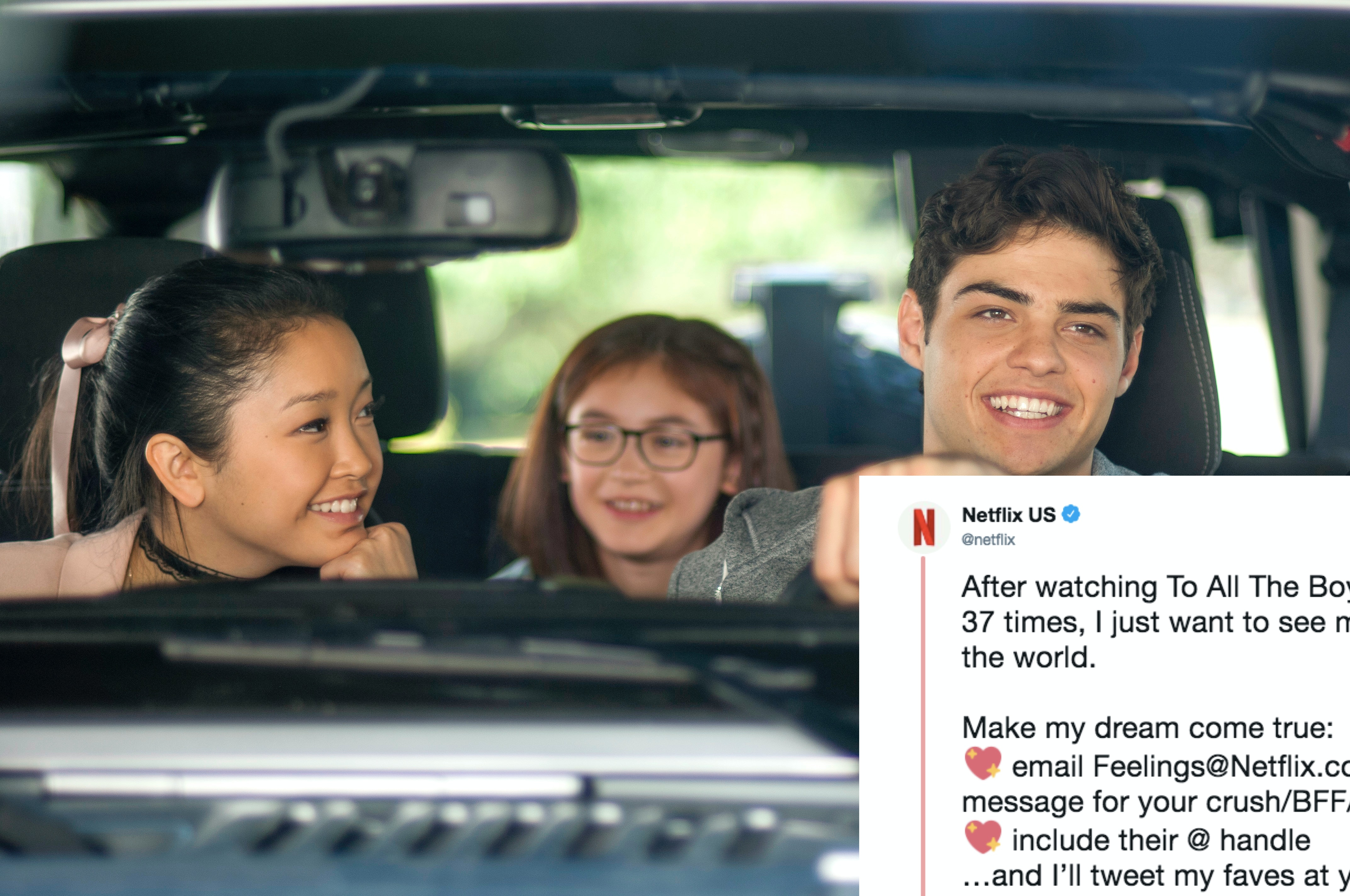 Netflix Tweeted Fans' 'To All The Boys I've Loved Before