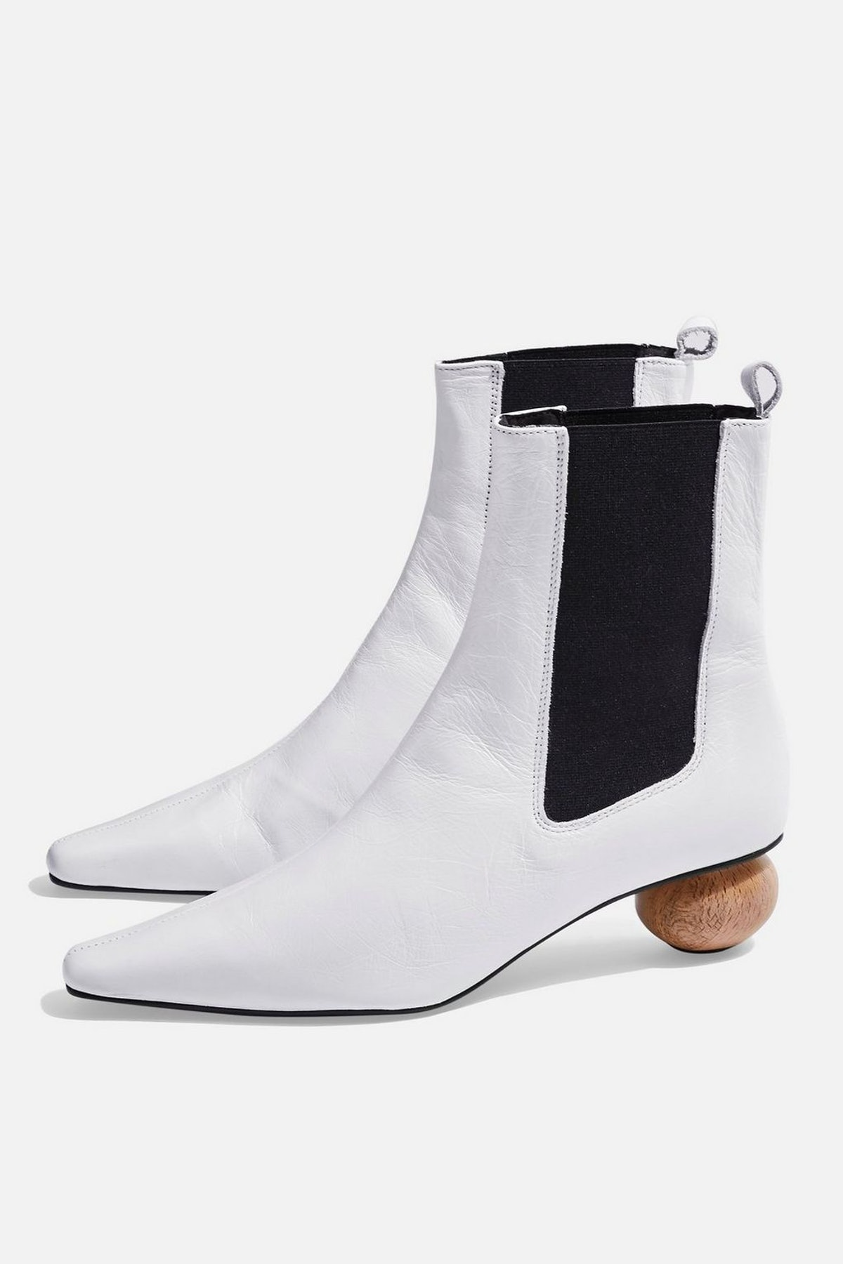 Sculptured Heel Boots