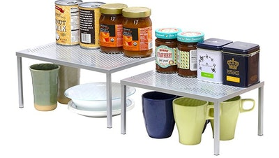 Simple Houseware Stackable Cabinet Organizers