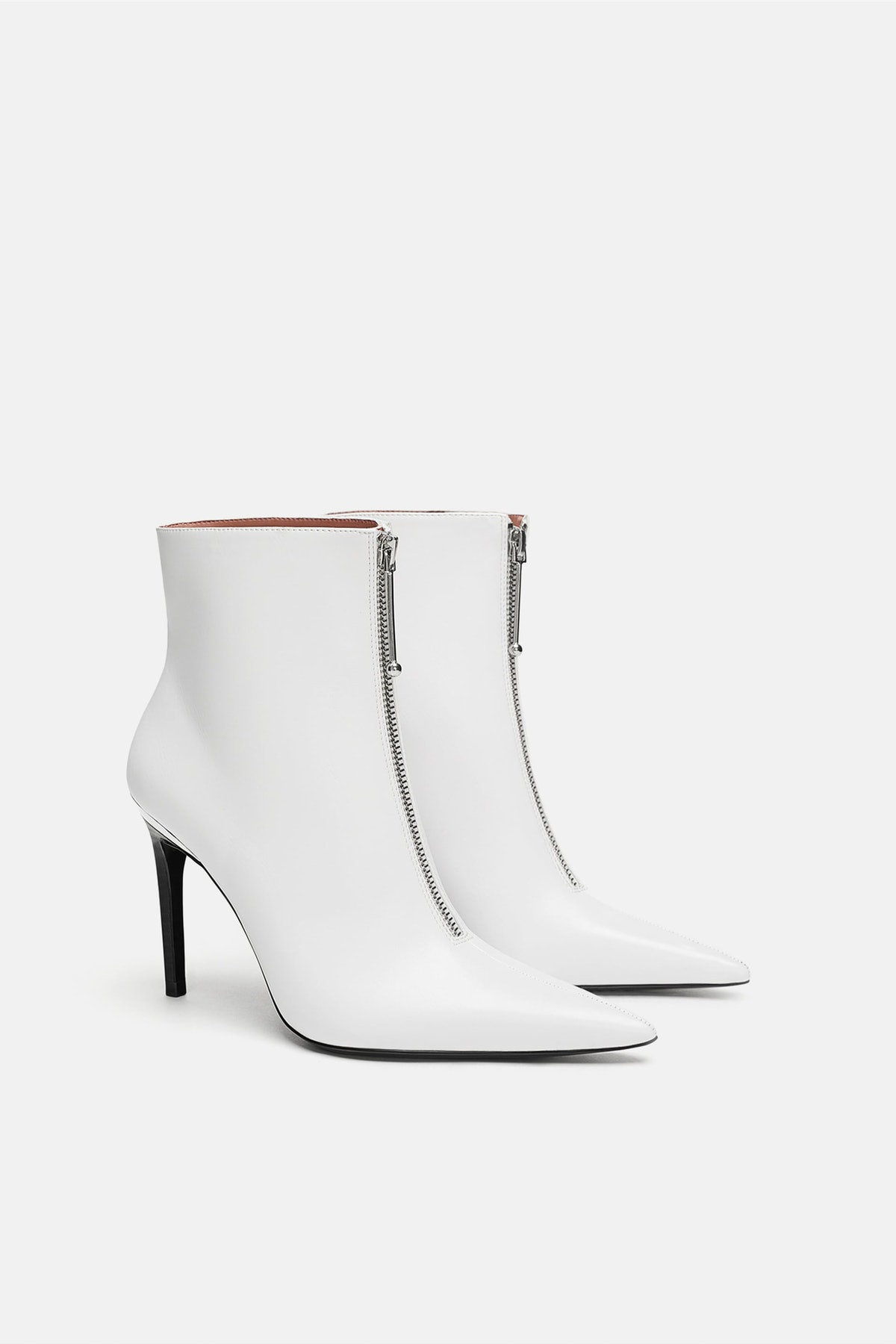 ZIPPERED ANKLE BOOT