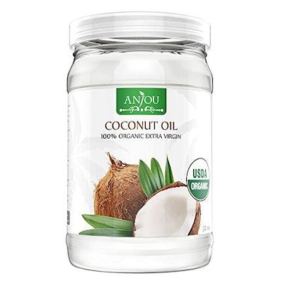 Anjou 100 Percent Organic Coconut Oil