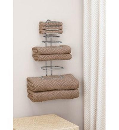 Folded Towel Rack