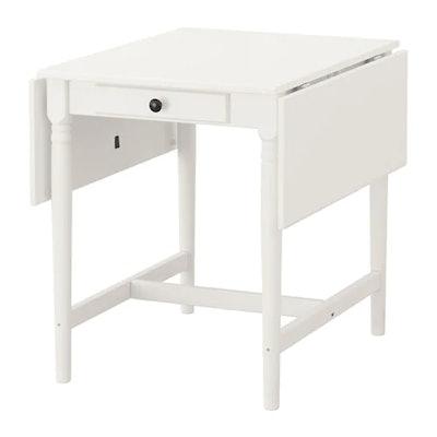 Ingatorp Drop-Leaf Table, White