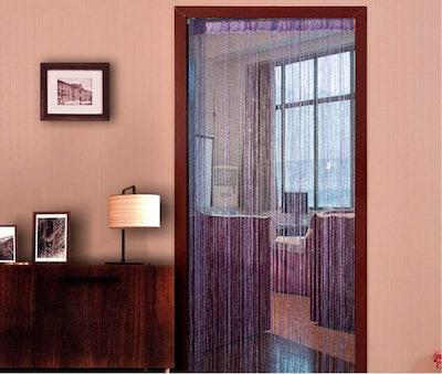 avesplit Decorative Door String Curtain Wall Panel Fringe