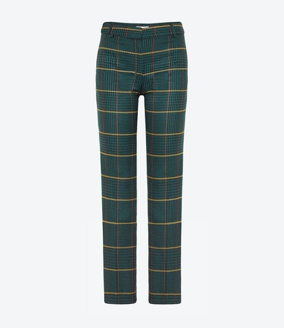 Cindy Pant in Green Plaid