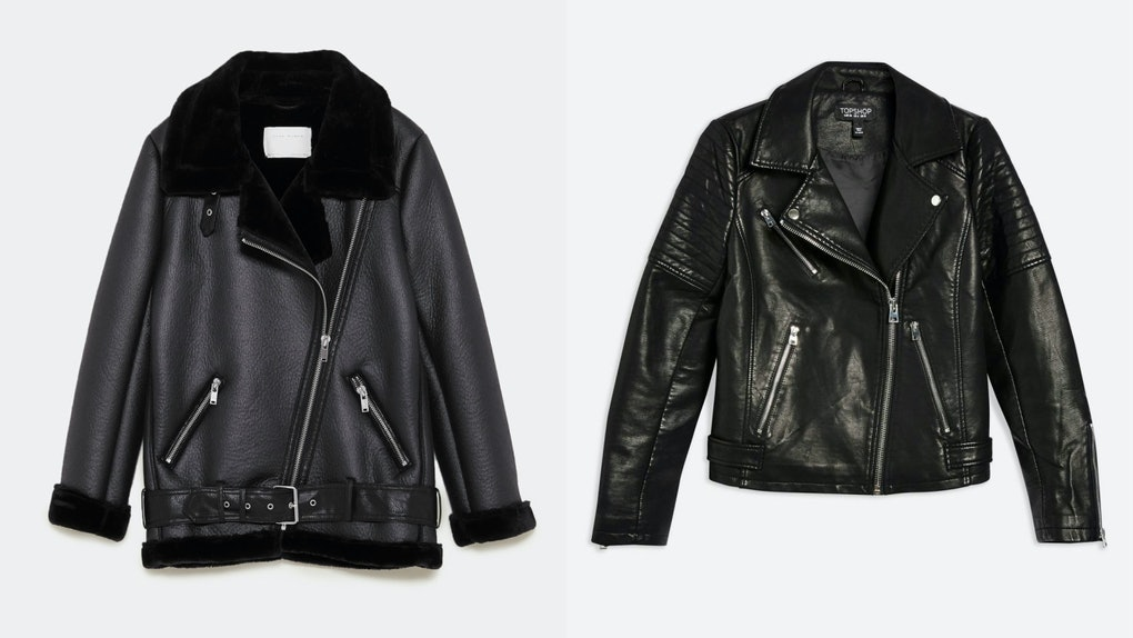 043e5f107 13 Cheap Leather Jackets For Fall 2018 That Will Make You Feel ...