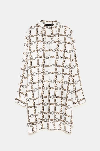 Chain Print Tunic