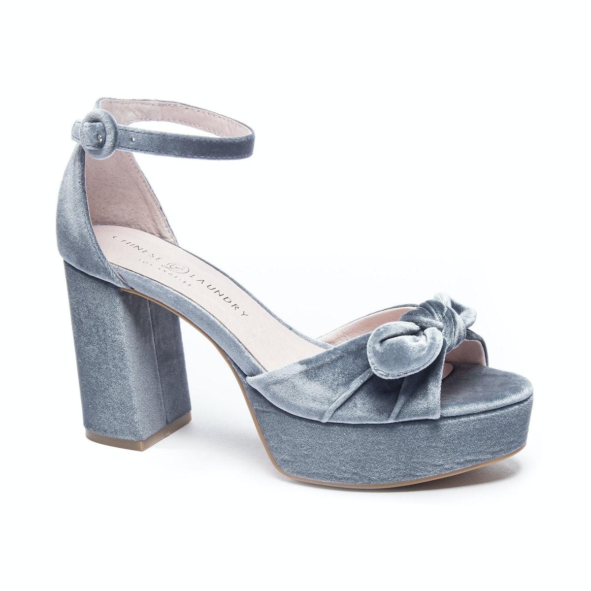 Tina Velvet Platform Sandal