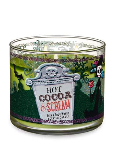 Hot Cocoa and Scream Scented Candle