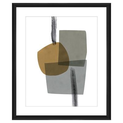 Layered Colors Ii 18x22 Wall Art