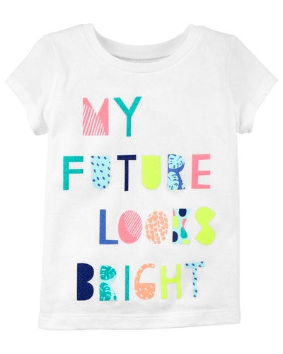 My Future Looks Bright Jersey Tee