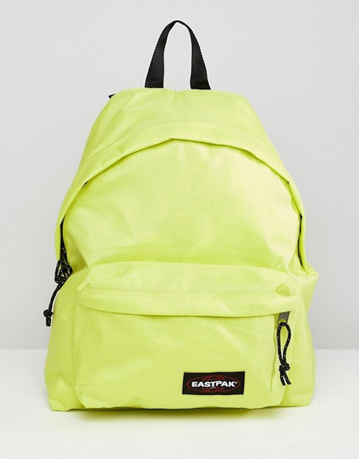 Eastpak Yellow Padded Pak'r Backpack