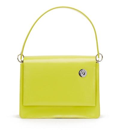 Lime Pinch Shoulder Bag