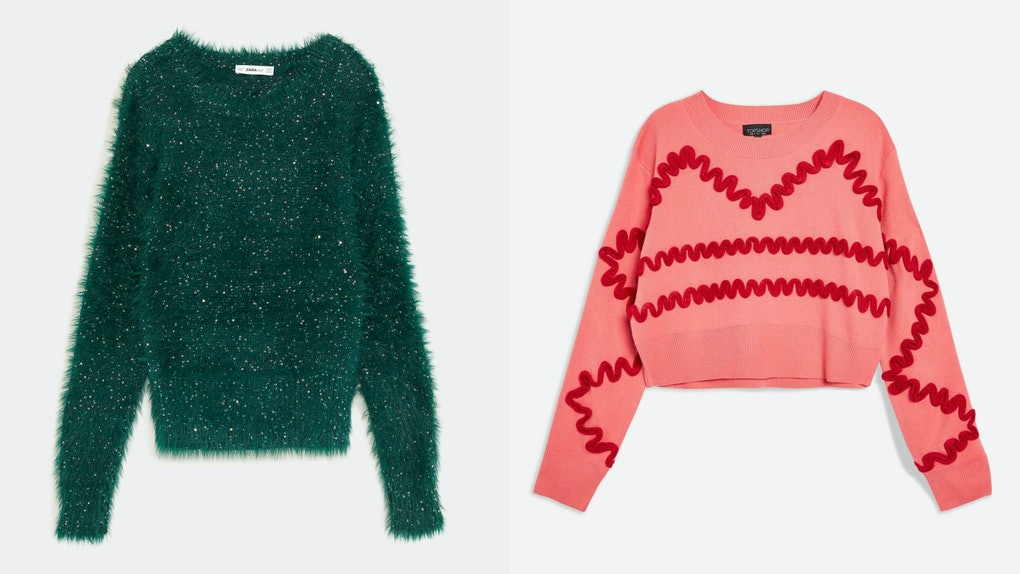 bf80fe85cf50 These Fall 2018 Sweater Trends Will Give You All Of The Coziest Hygge Vibes