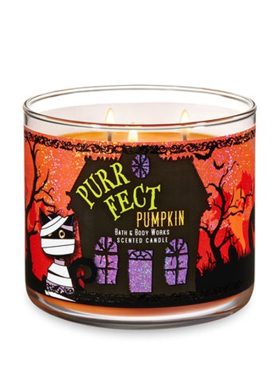 Purrfect Pumpkin Candle