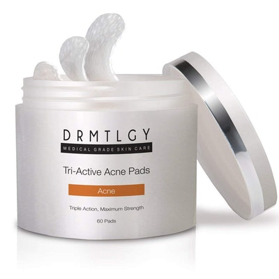 DRMTLGY Tri-Active Acne Pads (60 Pads)