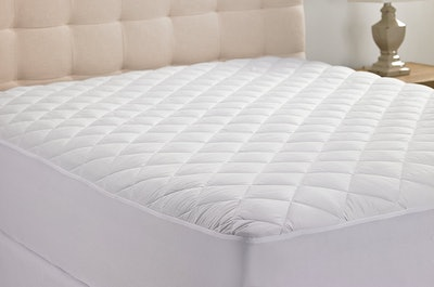Hypoallergenic Quilted Stretch-to-Fit Mattress Pad