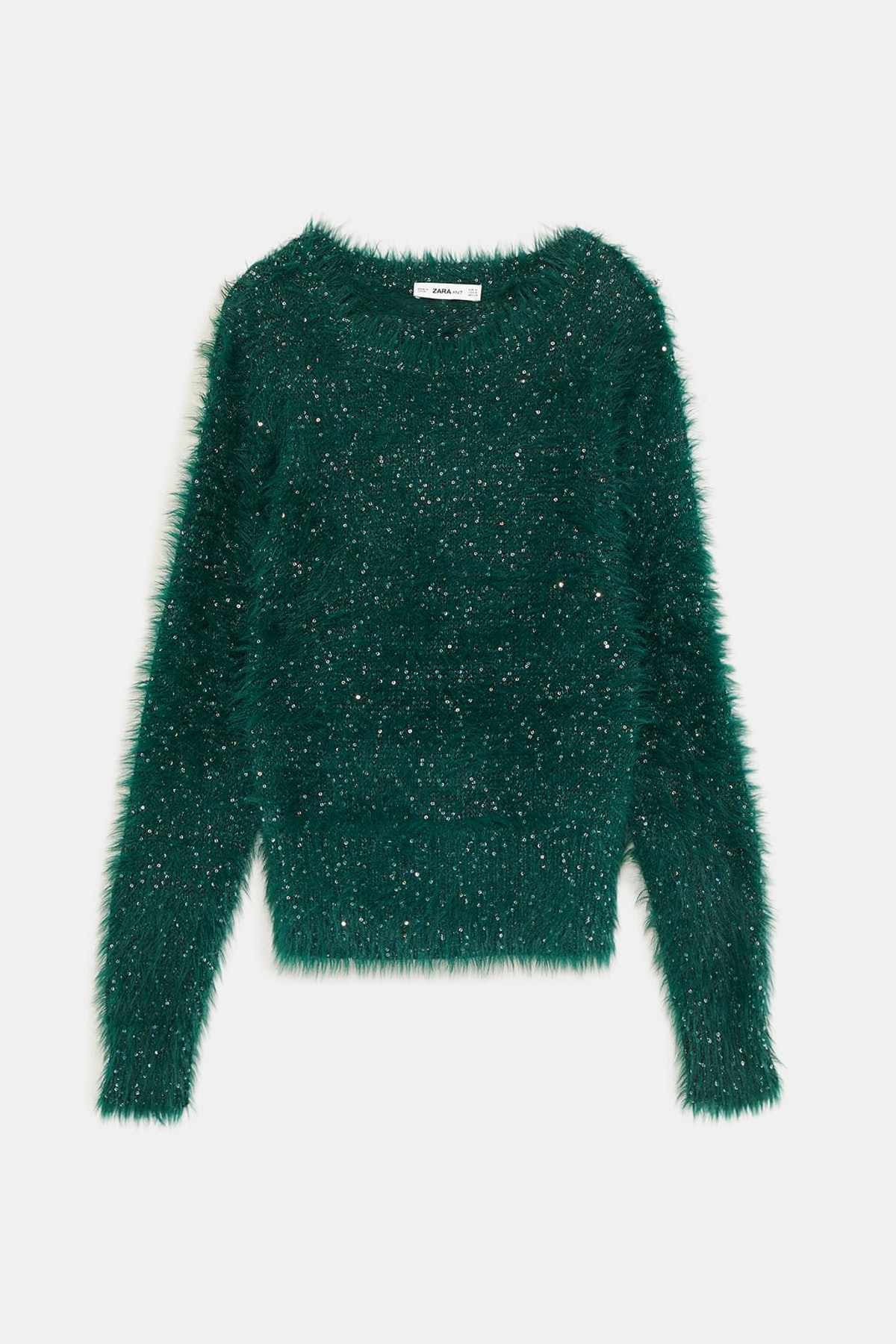 Textured Sweater With Sequins