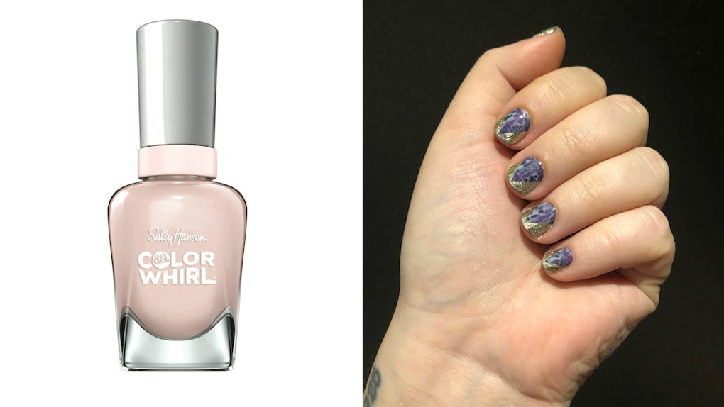 My Sally Hansen Miracle Gel Color Whirl Review Is A Whirlwind Of A ...