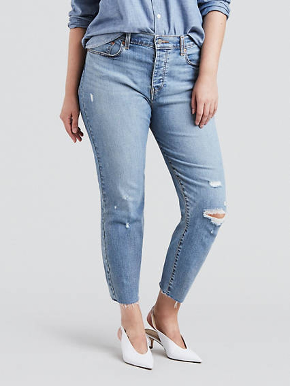 Wedgie Fit Jeans In Blue Spice