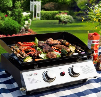 Royal Gourmet Portable Gas Grill Griddle