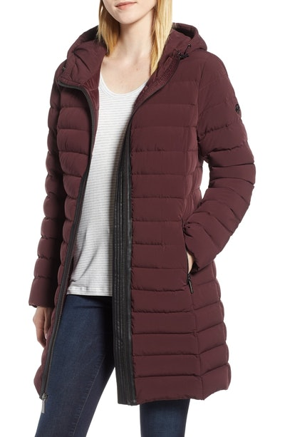 MICHAEL Michael Kors Quilted Packable Coat