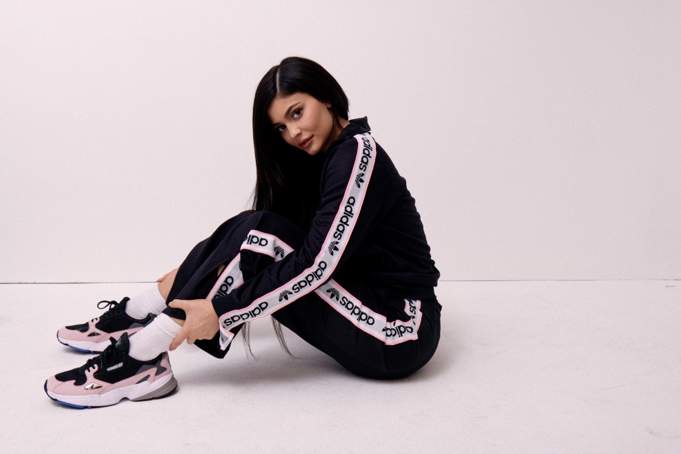 44641e449d68 The Kylie Jenner x Adidas Originals Campaign Is Here   It s All So  90s