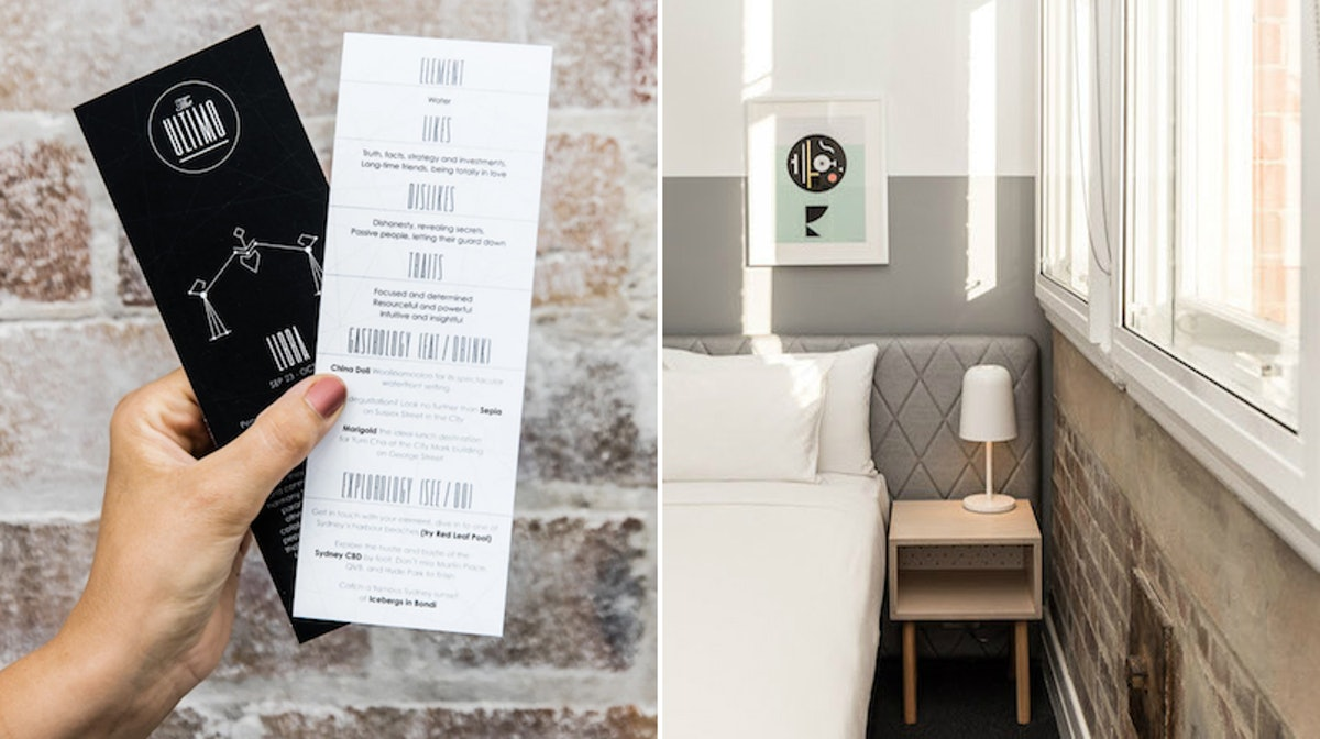 The Ultimo Astrology Hotel In Sydney Customizes Your Stay Based On Your Star Sign