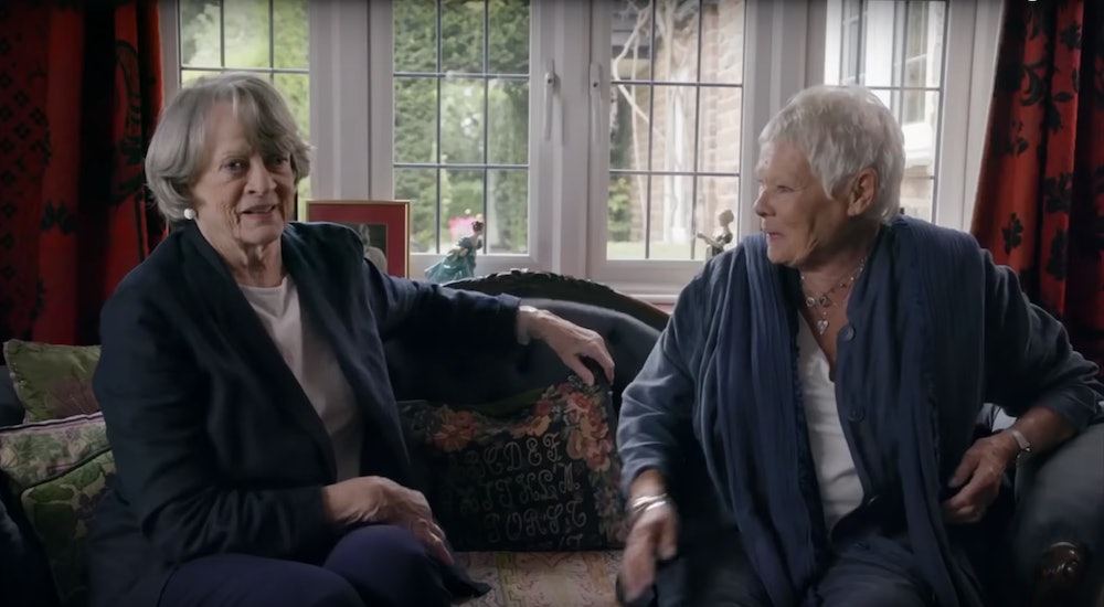 Maggie Smith & Judi Dench's 'Tea With The Dames' Trailer ...