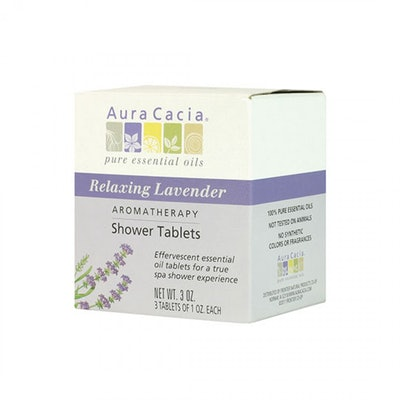 Aura Cacia Lavender Shower Tablets