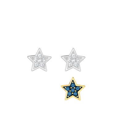 Crystal Wishes Star Pierced Earring Set
