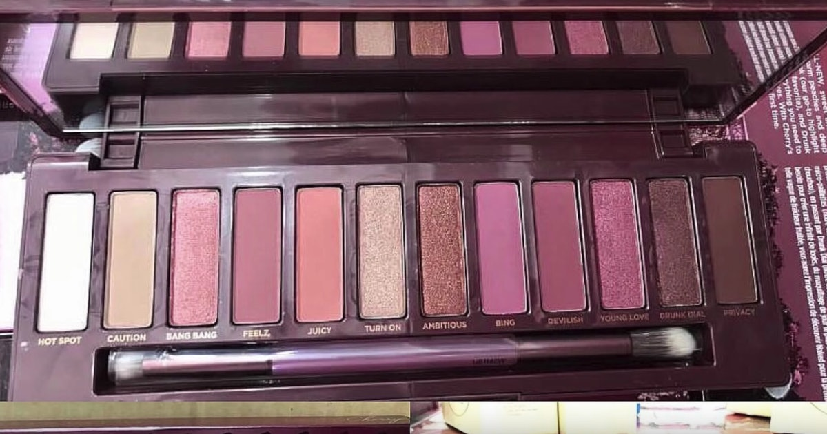 Urban Decay S Naked Cherry Palette May Just Heal Your