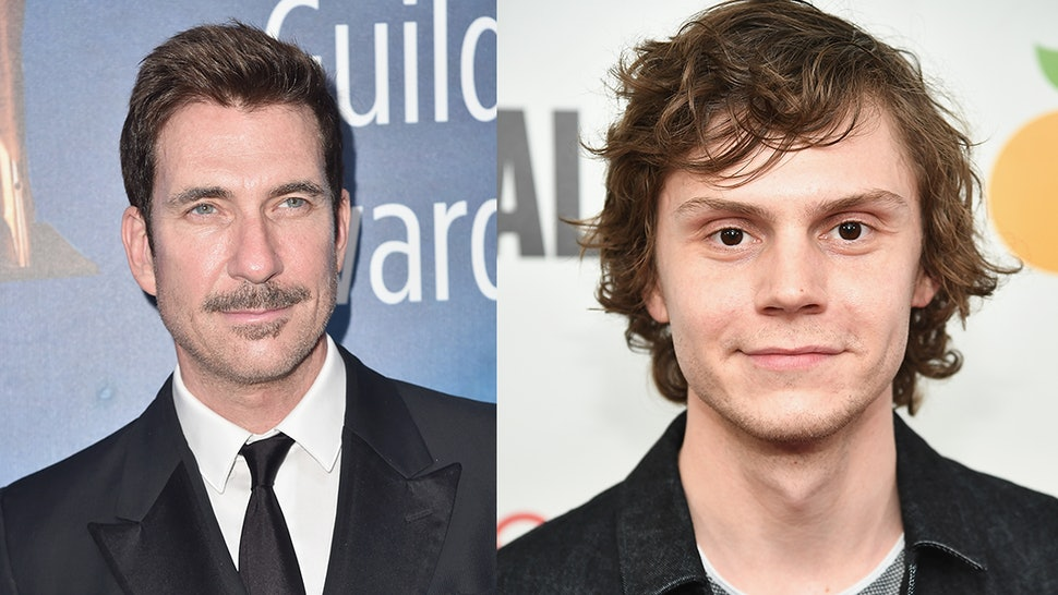 91e6821311e1 Dylan McDermott s  AHS  Apocalypse  Photo With Evan Peters Has Major Clues  About The New Season