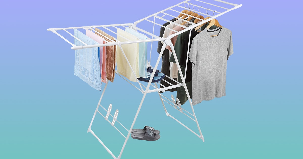 These Clothes Drying Racks Will Make Hand Washing Your Laundry A Breeze