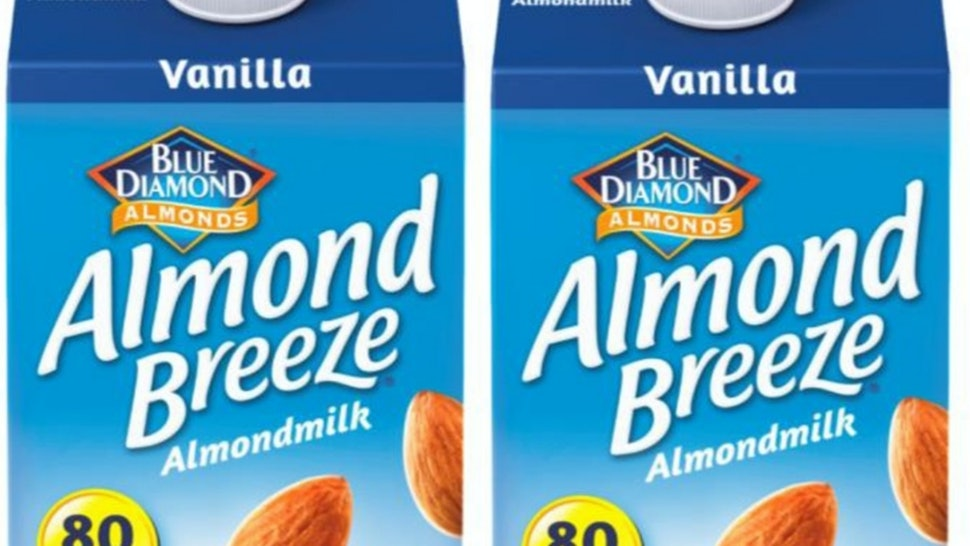 Vanilla Almond Breeze Almond Milk Has