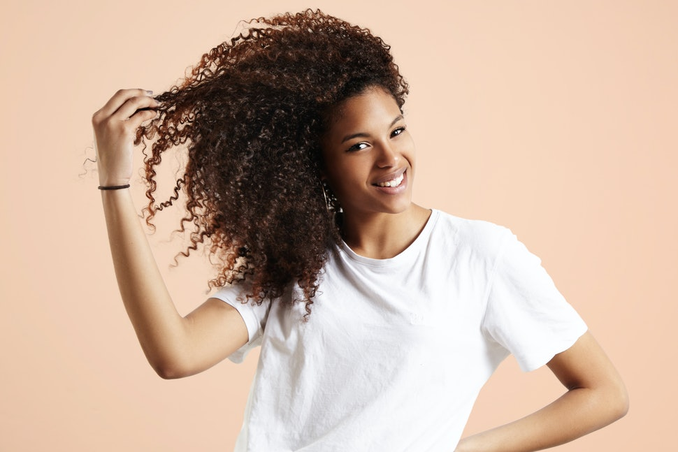 The Most Affordable Natural Curly Hair Routine Using Only Products