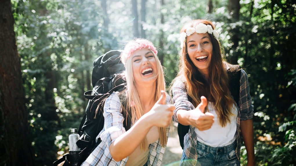 20 Witty Instagram Captions For Hiking When You Re Kickin It With Your Birches