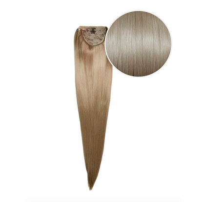 """Faux Wrap Ponytail 160g 20"""" Extension in """"Dirty Blonde"""""""