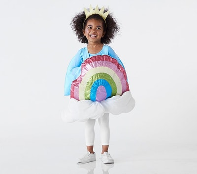 Toddler Rainbow Emoji Costume