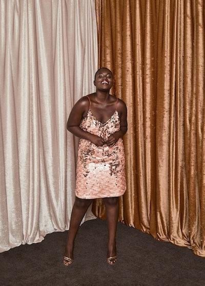 Reversible Sequins Dress