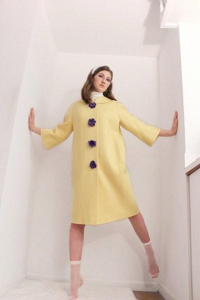 Patsy Hand-Crocheted Coat