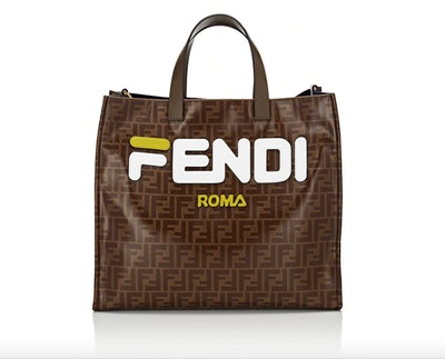 Shopping Small Coated Canvas Tote Bag