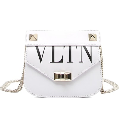 VLTN Small Leather Shoulder Bag