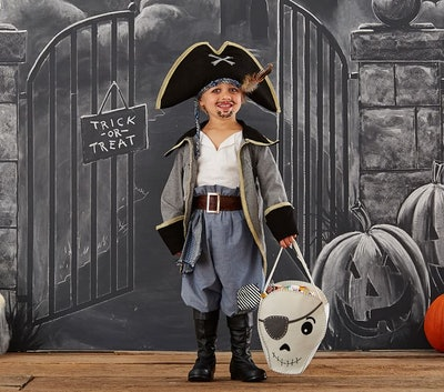 Over-the-Top Blue Pirate Costume
