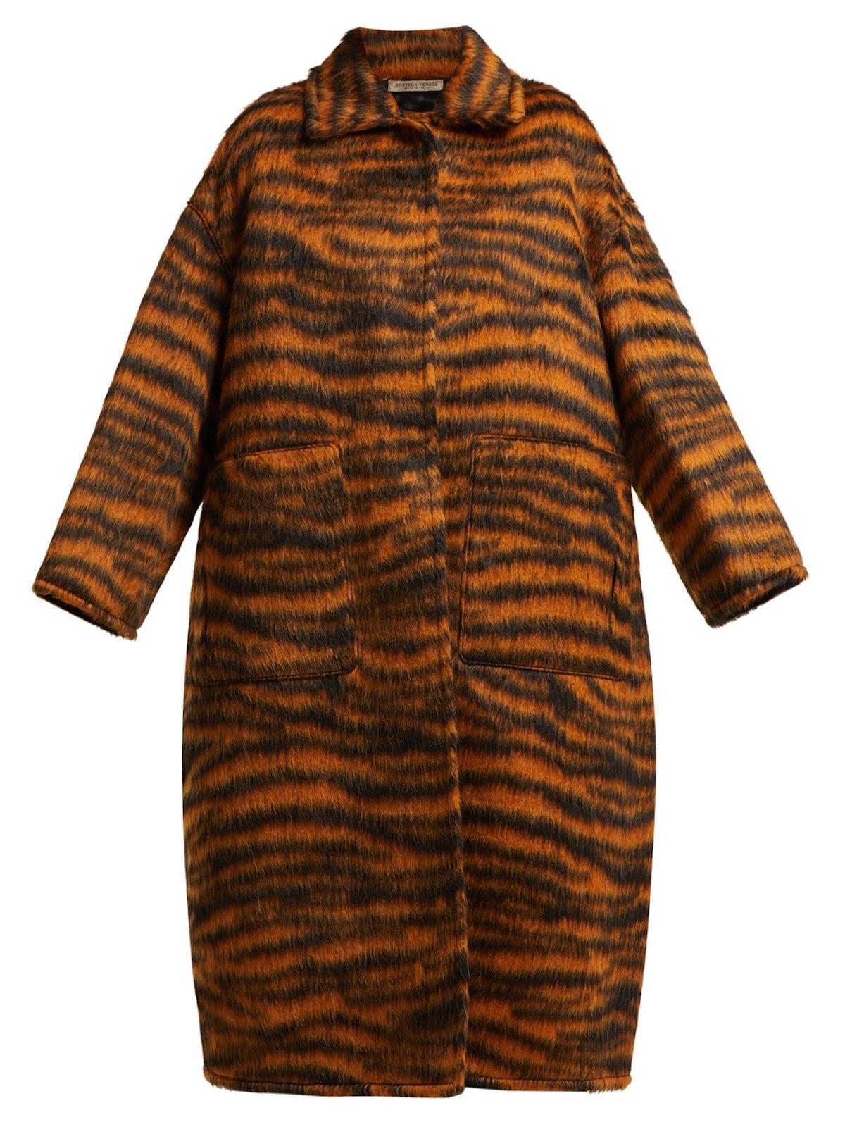 Tiger-Stripe Coat