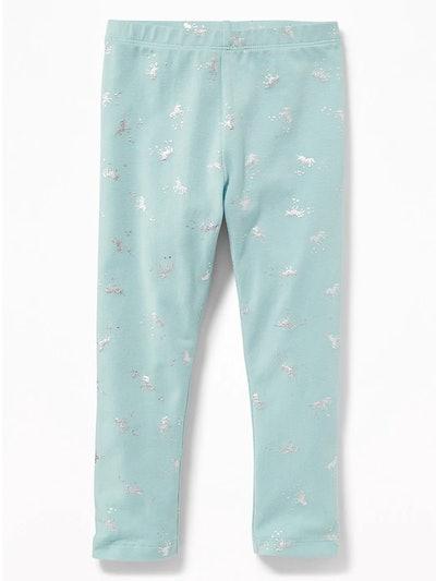 Printed Leggings for Toddler Girls