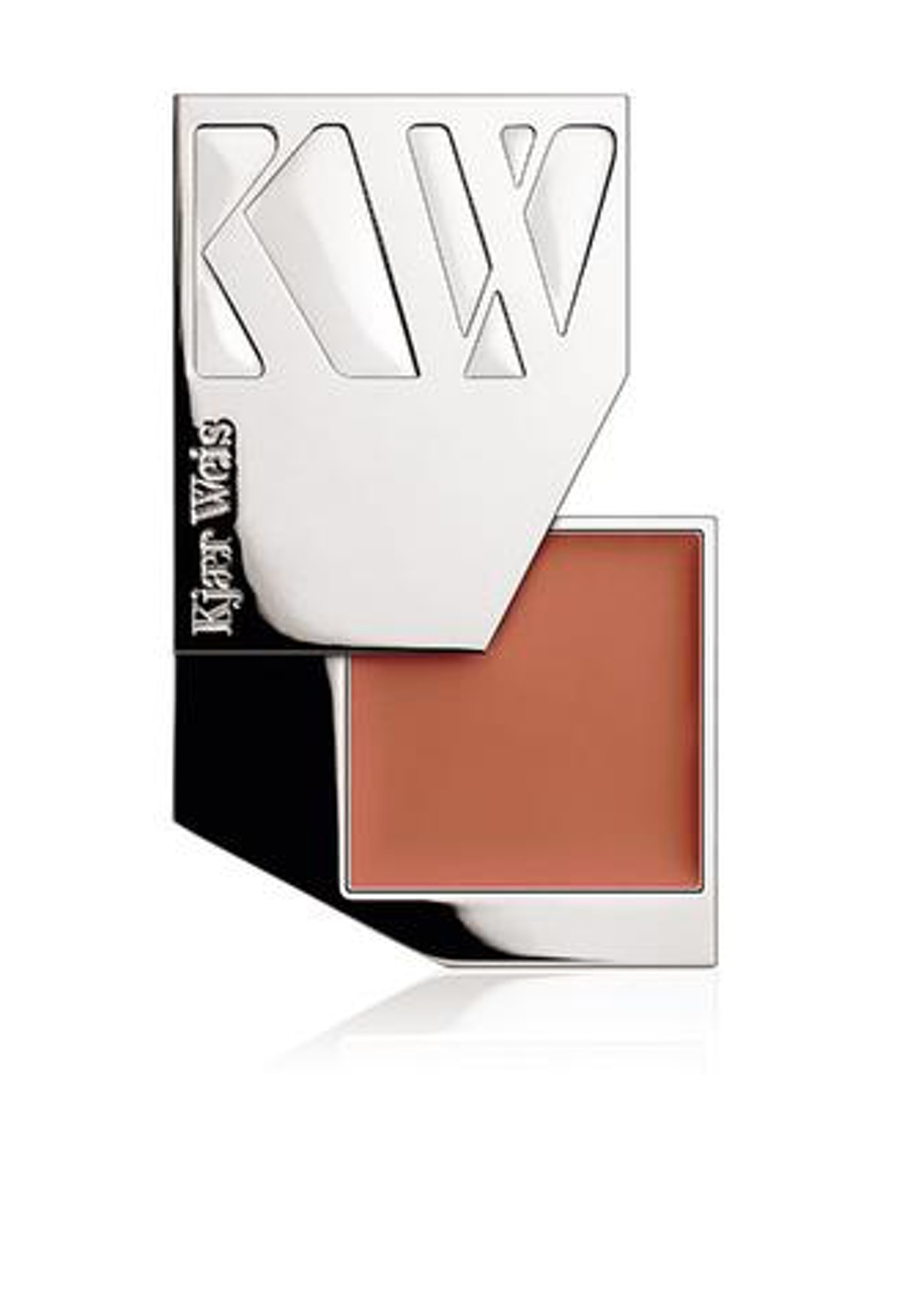 Refillable Cheek Color In Chic Metal