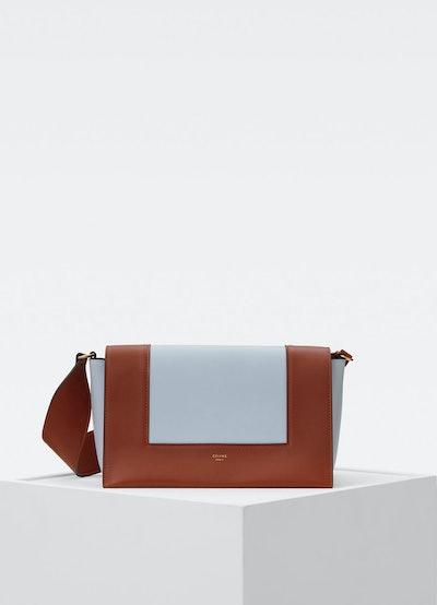 Medium Frame Bag in Shiny Smooth Calfskin